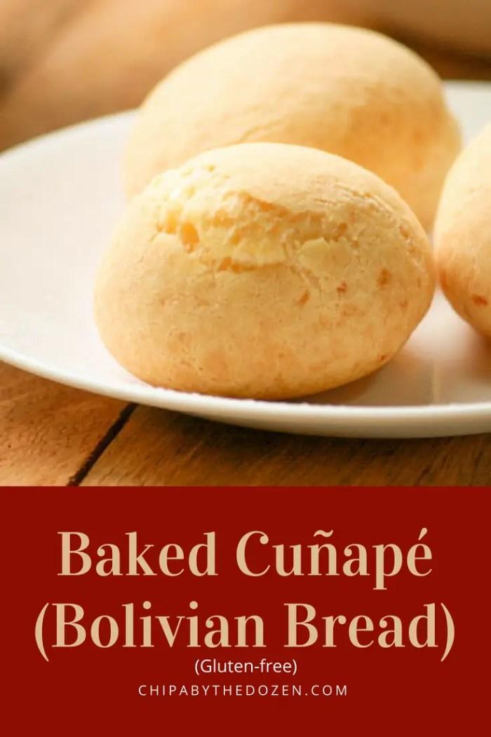 Baked Cuñapé (Bolivian Bread)