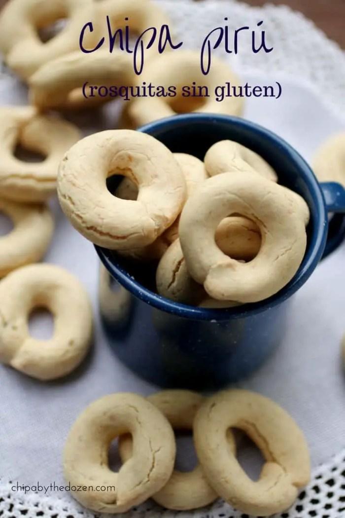 Chipa pirú (rosquitas crocantes sin gluten)