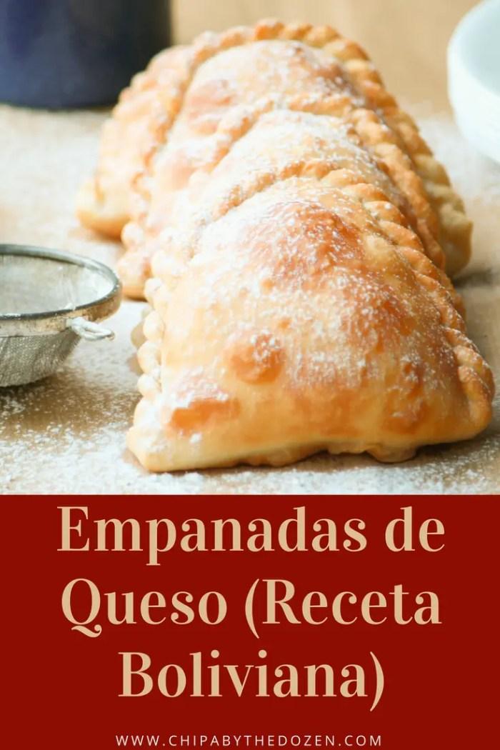 Empanadas de Queso (Receta Boliviana)