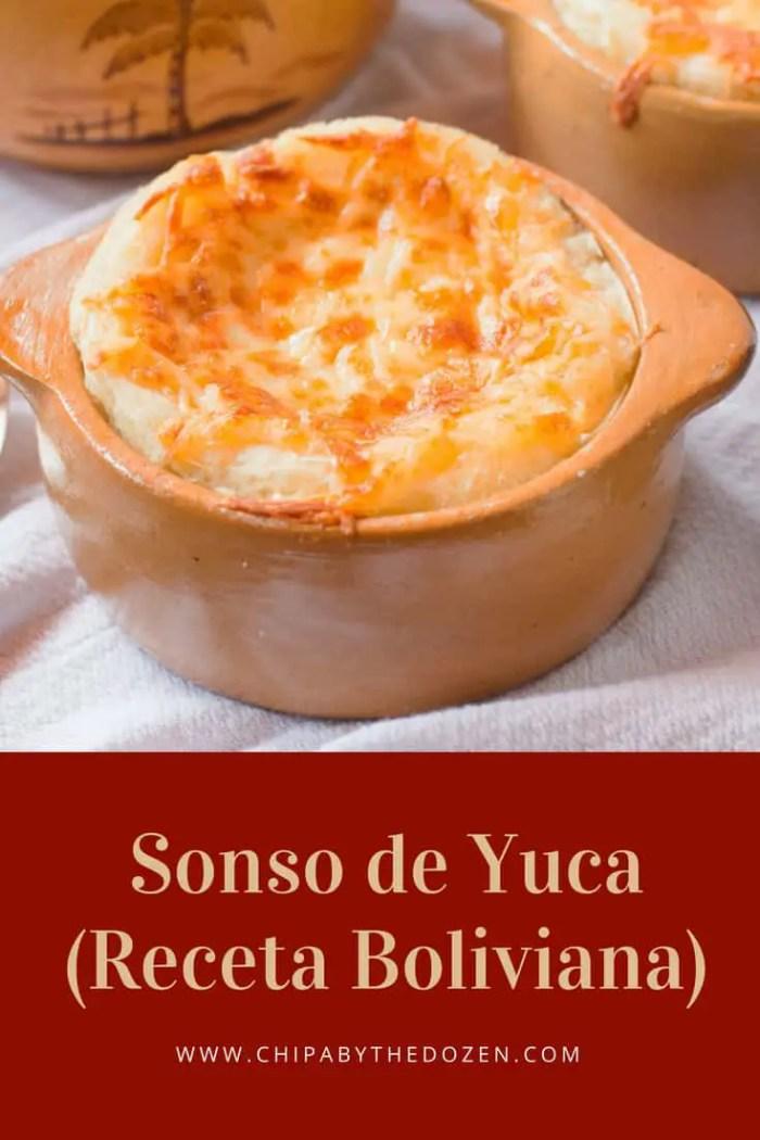 Sonso de Yuca Cruceño (Receta Boliviana)