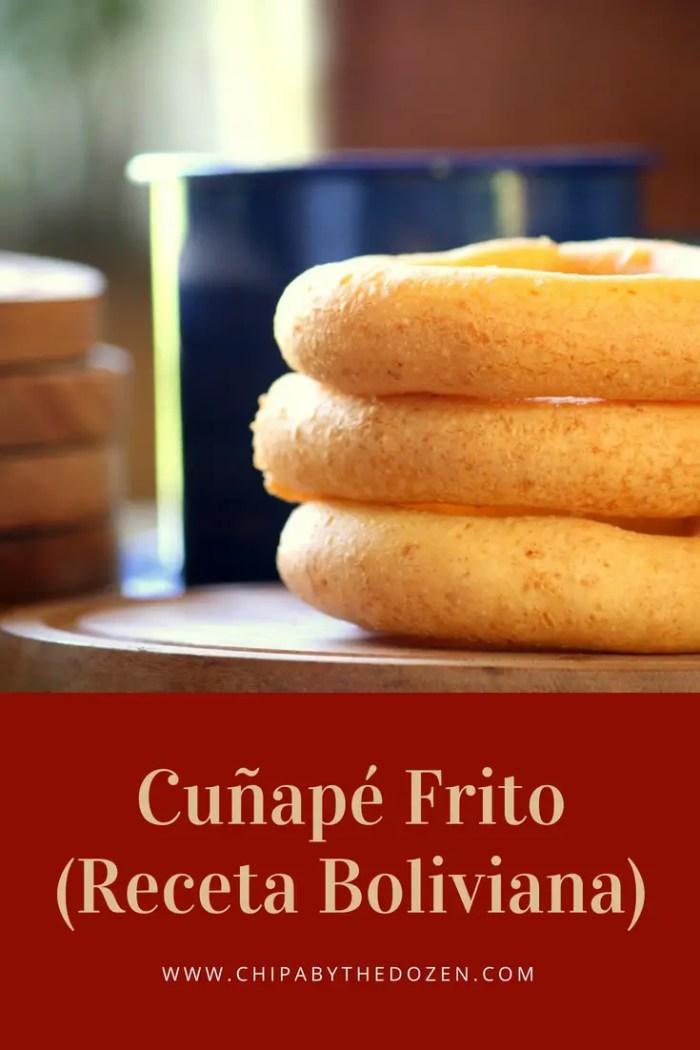 Cuñapé Frito (Receta Boliviana)