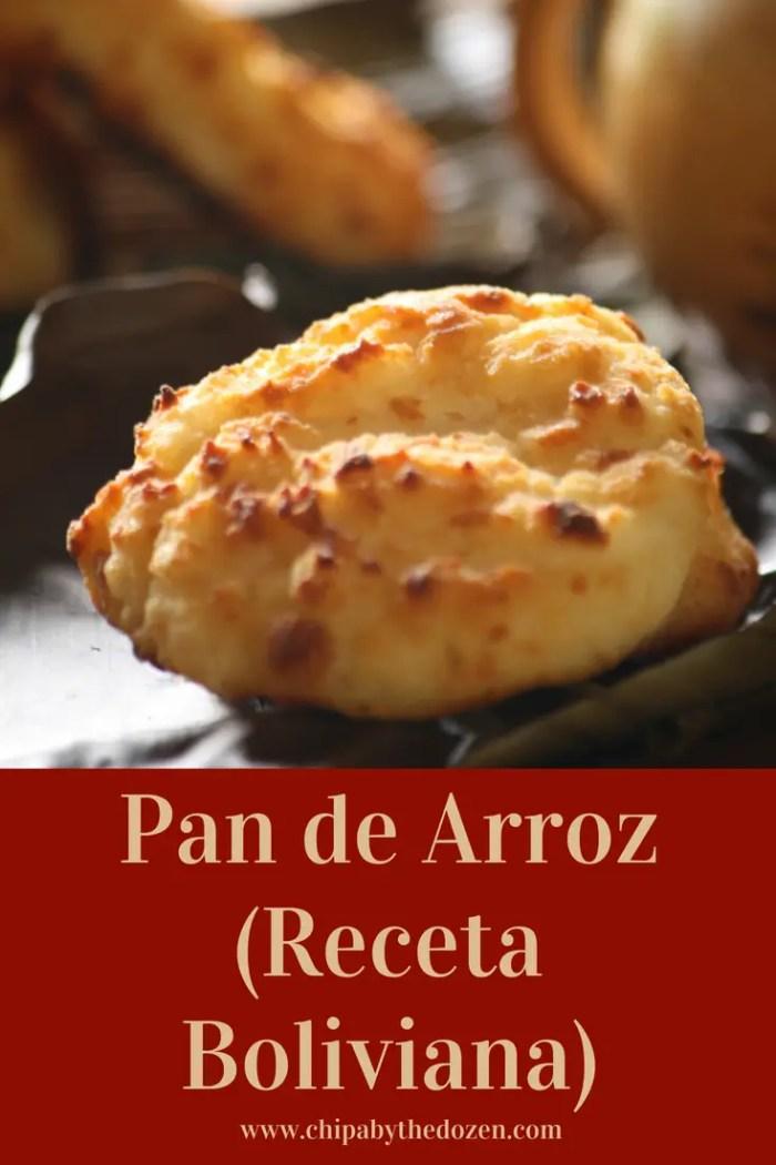 Pan de Arroz (Receta Boliviana)