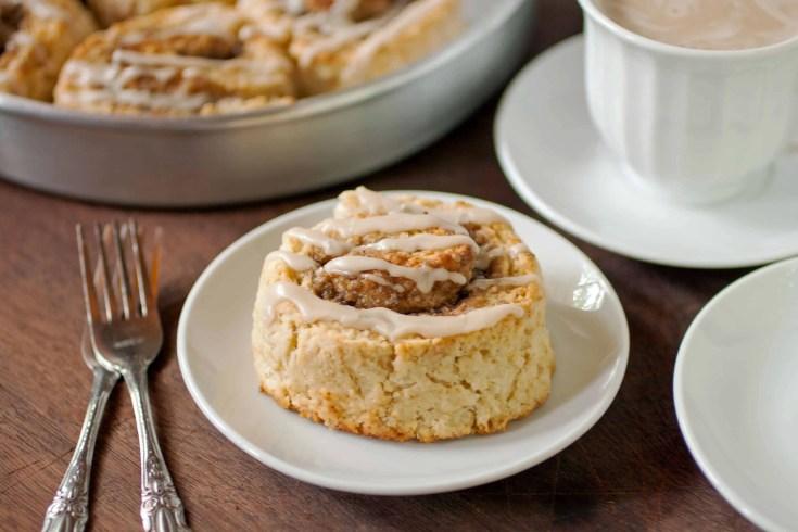 Easy Cinnamon Rolls (No Yeast)