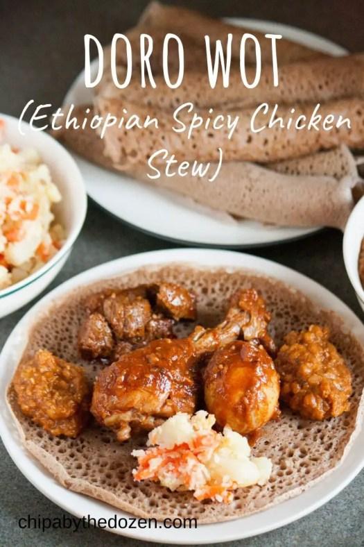 Doro Wot (Ethiopian Spicy Chicken Stew)