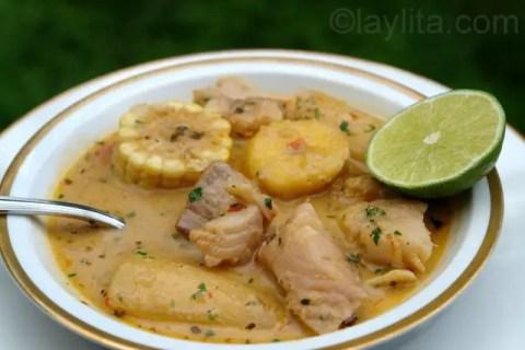Ecuadorian fish soup