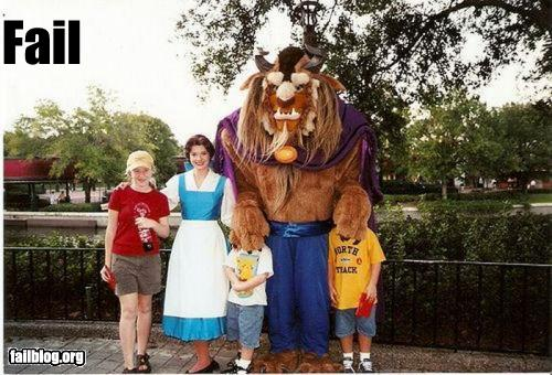Disney Pic of the Day – Beauty and the Beast Fail