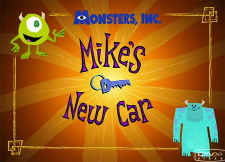 Pixar short film collection – Mike's new car