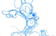 Original Walt Disney drawings found in an attic office
