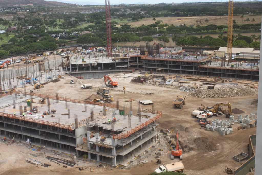 Construction of Disney's Hawaii Resort Photos