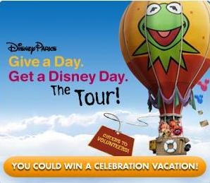 Disney Parks Offers New 'Give a Day, Get a Day' Program in 2010
