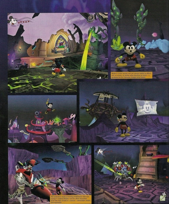 Disney Pic of the Day – Epic Mickey Screen Captures