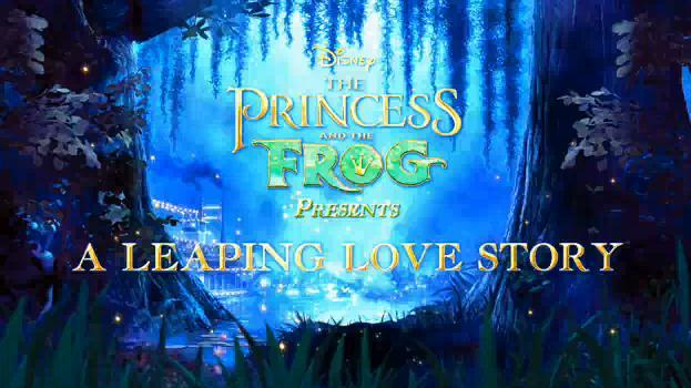 """The Princess & the Frog – """"Leaping Love Story"""" Featurette"""