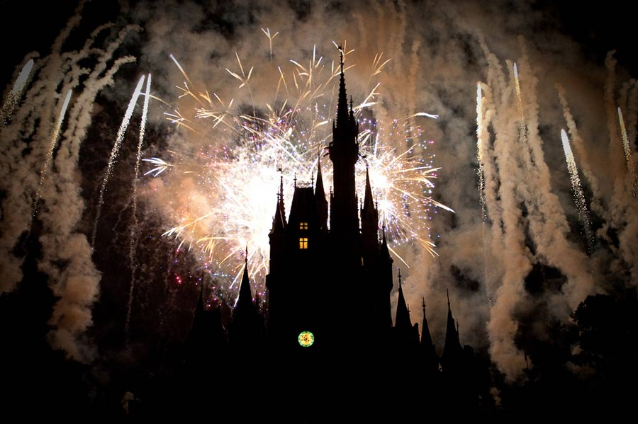 New Years Eve Lineup at Disneyworld