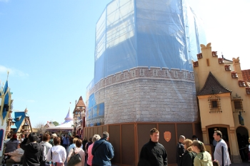 Current Disneyworld Construction Projects – from WDW Magic