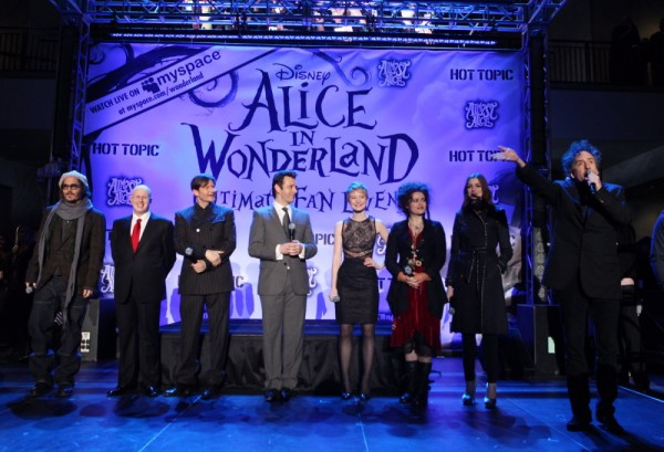 Alice in Wonderland Ultimate Fan Event Interviews & More!
