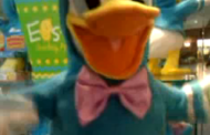 Disney's Donald Duck Easter Toy at Hallmark Store