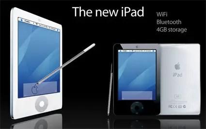 The Apple iPad Parody