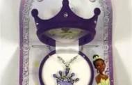 Disney's The Princess and The Frog pendants recall