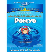 Save $10 on Disney's Ponyo Blu-Ray DVD Combo Pack in US & Canada