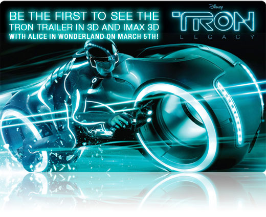 *New* Tron Legacy Pictures – Countdown to New Trailer Begins