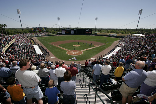 Atlanta Braves Spring Training Begins at ESPN Wide World of Sports Complex