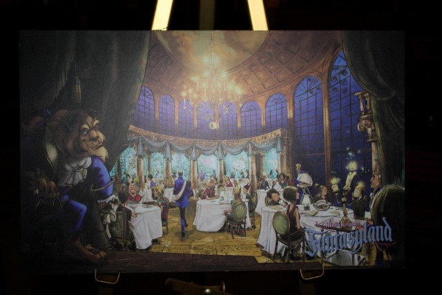 New Disneyworld Fantasyland Concept Art Photos