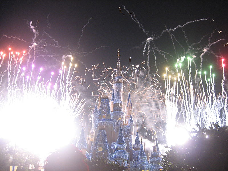Ask a Disney Question:  Best Places to Watch Wishes.