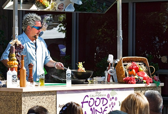 Guy Fieri Dishes on Disneyland & the California Food & Wine Festival
