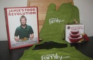 Disney Family.com & Jamie Oliver *Eating Healthly Giveaway*