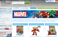 Marvel Products are now available at the Disney Store Website