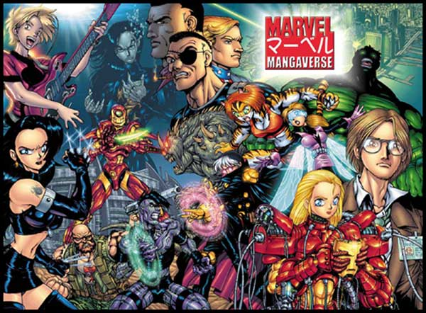 Del Rey Publishing closes the book on Marvel manga