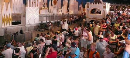 Ask a Disney Question:  What do you do while waiting in line?