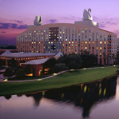 Discovering the Walt Disney Swan and Dolphin: Two Cool Buildings with Some Heavenly Benefits