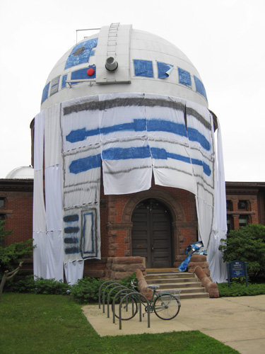 The Ultimate Star Wars R2-D2 College Prank