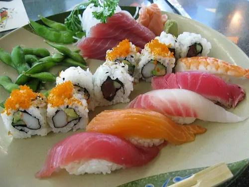 Disney Food Confession – Chef's Platter Sushi