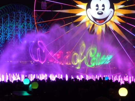 World of Color Opening