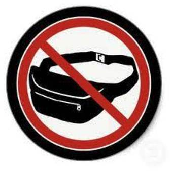 Just Say NO to Fanny Packs!