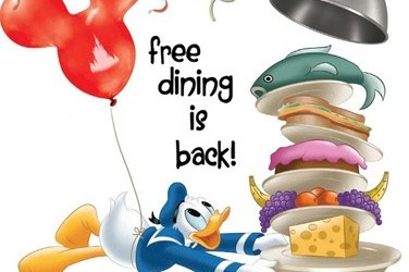 Free Dining Plan Available at Disney World Through July 31