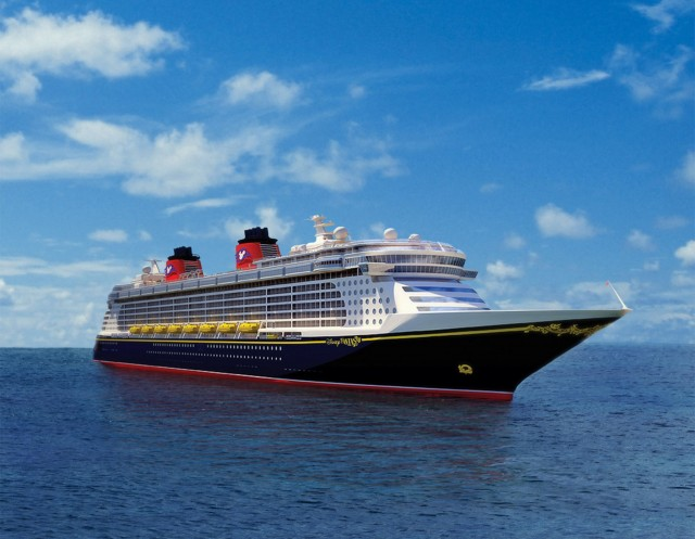 The Disney Fantasy Begins Dry Dock To Add New Enhancements