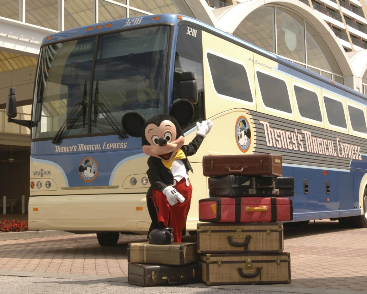 Disney's Magical Express Tests New Pickup Spot