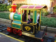 The Holiday Train at Downtown Disney