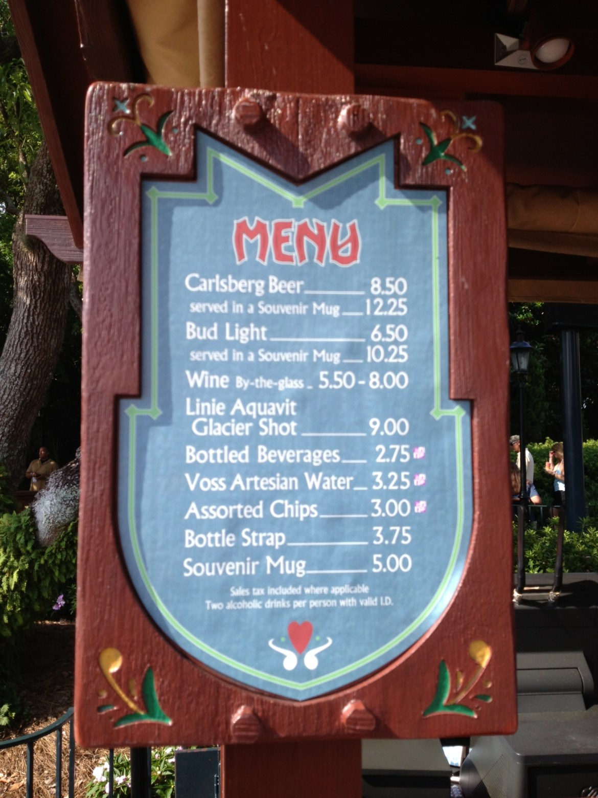 Drink Around the World Showcase – Norway Pavilion