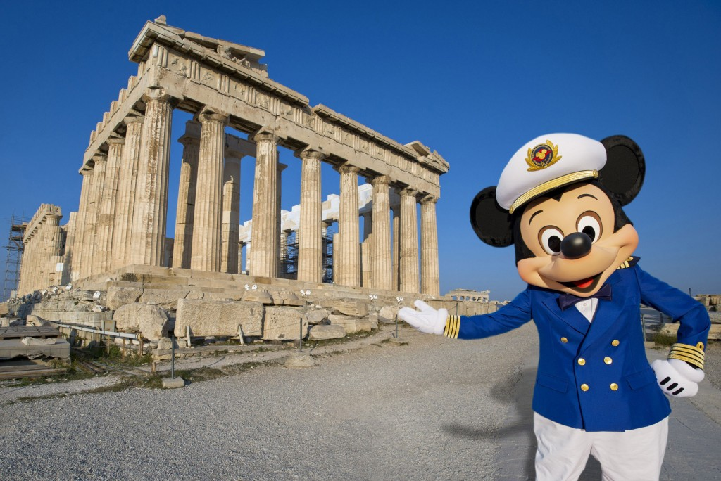Disney Magic Hosts First-Call Ceremony in Piraeus, Greece