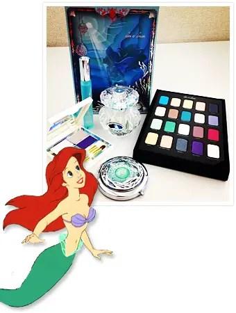 Sephora Introduces Princess Ariel Makeup Collection