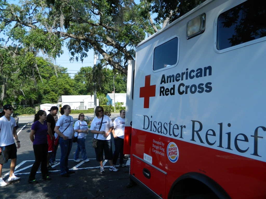 Disney Donates to Central Florida Red Cross