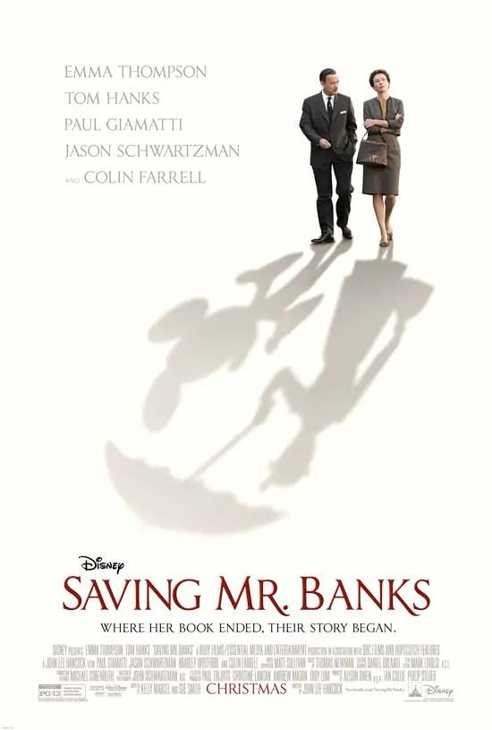 """Saving Mr. Banks"" Coming to Blu-Ray March 18, 2014"