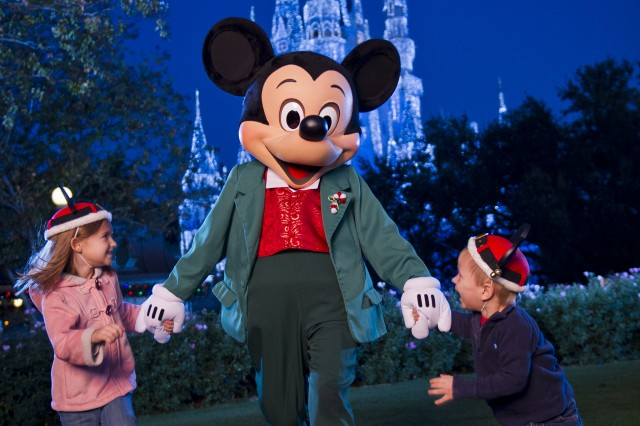 Discounted rates so you can spend Christmas with Mickey Mouse