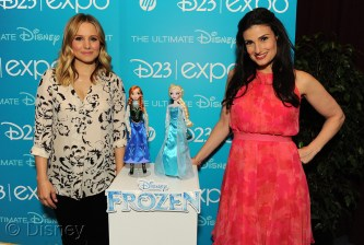 Dolls from the move Frozen