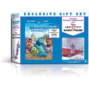 Exclusive Gift Set with Monsters University