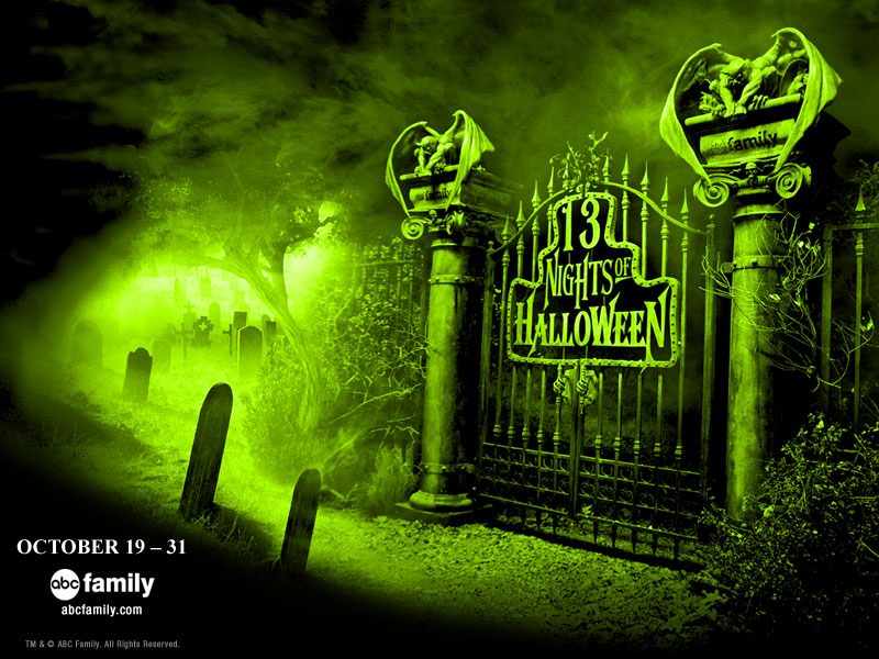 2013 ABC Family's 13 Nights of Halloween Schedule